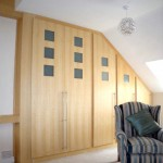 Stunning Oak and Glass Wardrobes