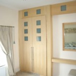 Oak and Glass Wardrobes