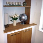 Bespoke Alcove Shelving (White Willow Furniture)
