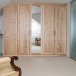 Solid Ash Five Door Wardrobe