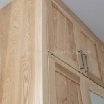 Solid Ash Three Door Wardrobe