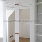 Shaker Style Sloping Ceiling Wardrobe