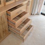 Oak Display Draws