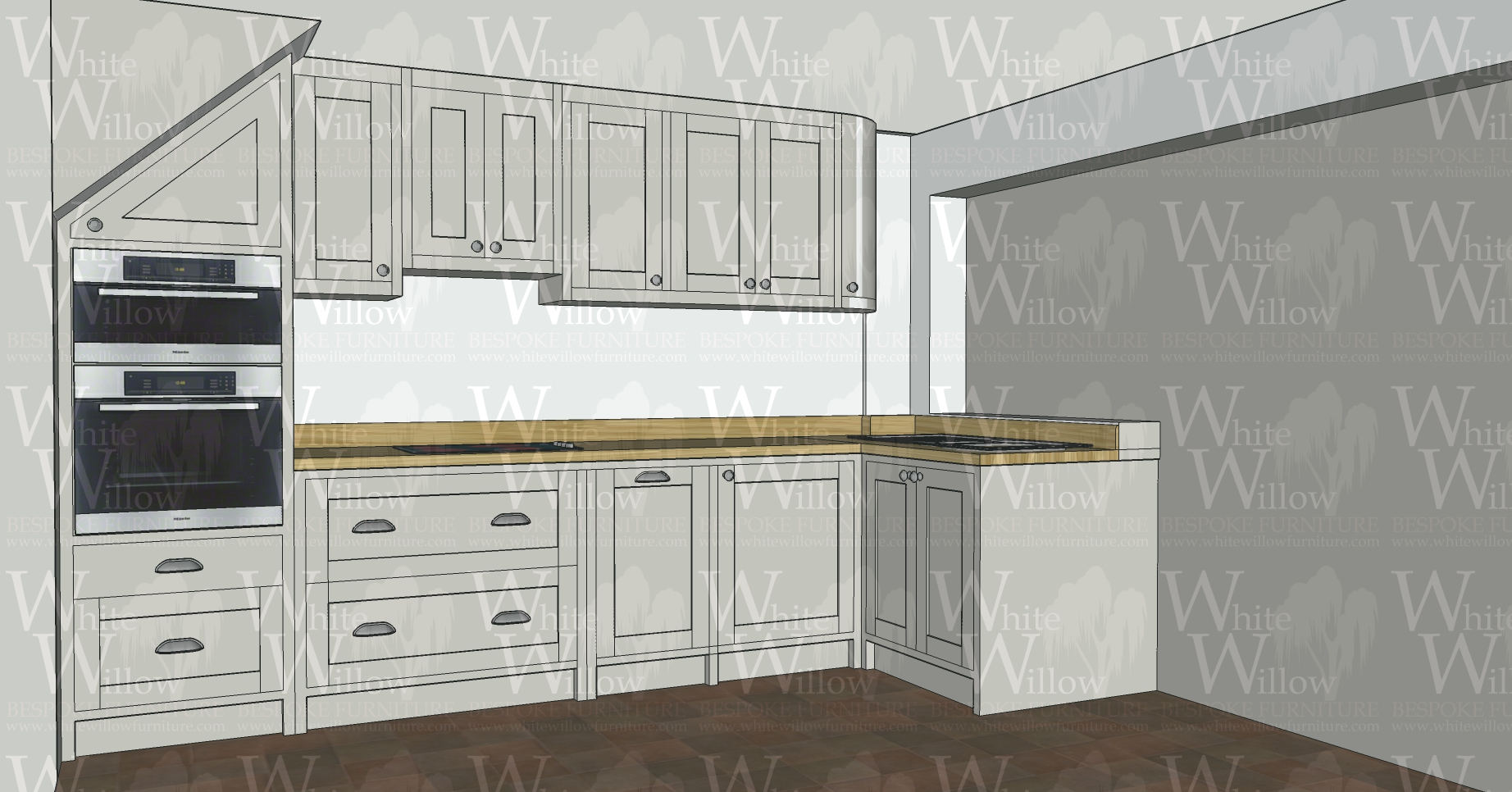 Kitchen Design White Willow Furniture Bespoke