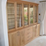 Oak Display Unit Custom Made