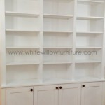 Bespoke Furniture Bookcase surrounding RSJ