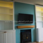 Alcove Cupboards with Mood Lighting Cardiff Bristol