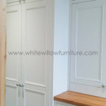 Custom Made Traditional Style Furniture- Utility Room, Cyncoed, Cardiff, White Willow Furniture Bespoke Kitchen
