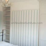 New England Style Wardrobes & bookcase White Willow Furniture Cardiff and Bristol