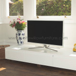 Bespoke TV Unit White Willow Furniture Cardiff and Bristol