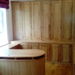 bespoke office made from oak in cardiff south wales