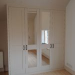 Sloping angled wardrobe bespoke cotswolds stroud