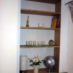 Bespoke Alcove Shelving (White Willow Furniture)