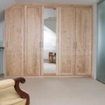 Solid Ash Five Door Wardrobe