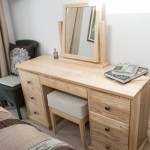 Solid Ash Dressing Table