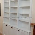 Bespoke Furniture Bookcase surrounding RSJ