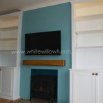 Alcove Cupboards with Mood Lighting