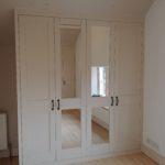 Sloping angled wardrobe bespoke cotswolds stroud